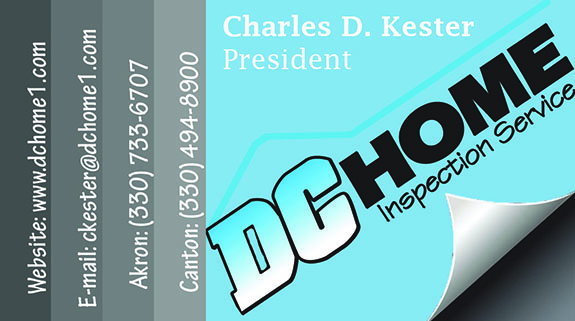 DC Home Inspection business card