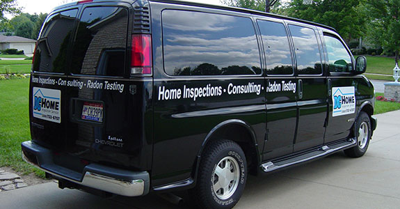 DC Home Inspection Service van